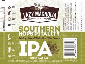 Lazy Magnolia Brewing Company Southern Hops'pitality