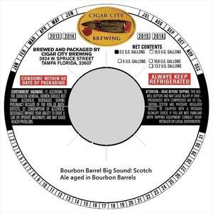 Barrel Aged Big Sound
