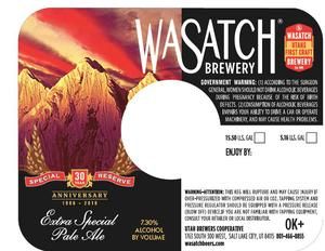 Wasatch Brewery Extra Special