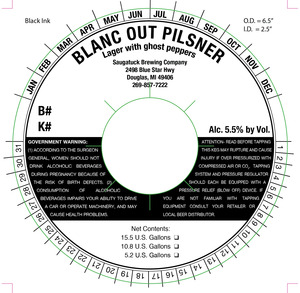 Saugatuck Brewing Company Blanc Out
