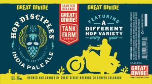 Great Divide Brewing Company Hop Disciples