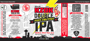 Bellevue Brewing Company Kzok High Voltage Double IPA