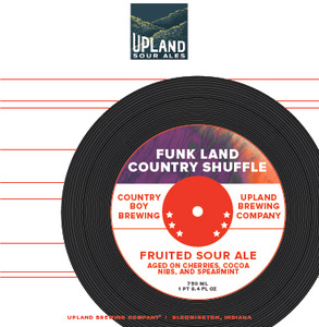 Upland Brewing Company Funk Land Country Shuffle