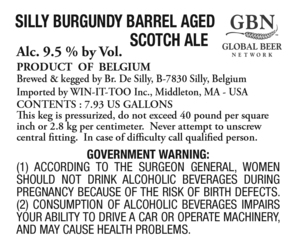 Scotch Silly Burgundy Barrel Aged