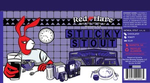 Red Hare Sticky Stout