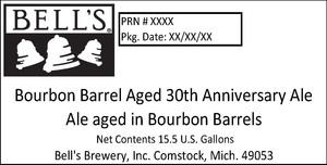 Bell's Bourbon Barrel Aged 30th Anniversary Ale