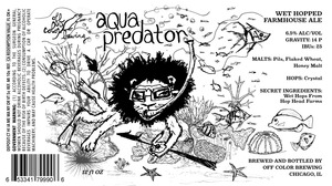 Off Color Brewing Aqua Predator