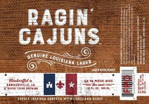 Ragin' Cajuns Genuine Louisiana Lager