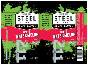 Steel Reserve Spiked Watermelon September 2016