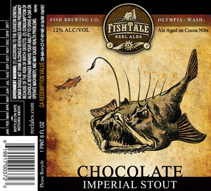 Fish Tale Reel Ales Chocolate Imperial Stout