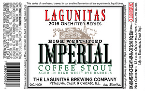 The Lagunitas Brewing Company High West-ified Imperial Coffee