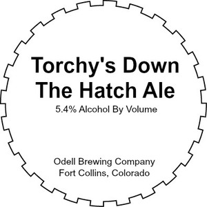 Odell Brewing Company Torchy's Down The Hatch