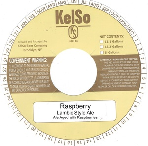Kelso Raspberry Lambic Style