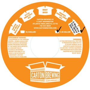 Carton Brewing Co. To Wong Brew