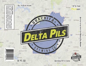 Ouachita Brewing Co. Delta Pils
