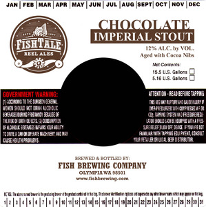 Fish Tale Ales Reel Ales Chocolate Imperial Stout