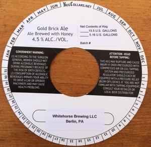 Whitehorse Brewing, LLC Gold Brick Ale