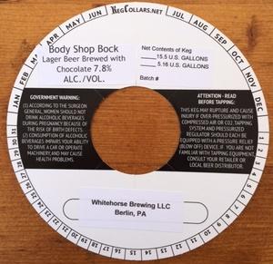 Whitehorse Brewing, LLC Body Shop Bock