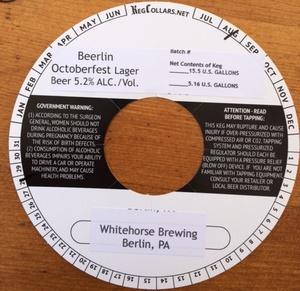 Whitehorse Brewing, LLC Beerlin Octoberfest