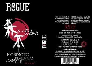 Rogue Morimoto Black Obi Soba