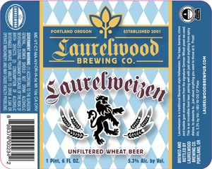 Laurelwood Brewing Co. Laurelweizen