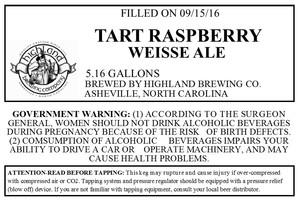 Highland Brewing Co. Tart Raspberry