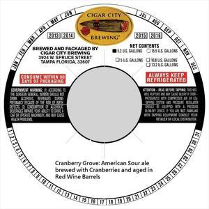 Barrel-aged Cranberry Grove Barrel-aged Cranberry Grove