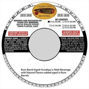 Rum Barrel Hunahpu's Imperial Stout Rum Barrel Hunahpu's Imperial Stout
