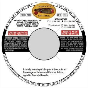 Brandy Barrel Hunahpu's Imperial Stout Brandy Barrel Hunahpu's Imperial Stout