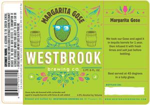 Westbrook Brewing Company Margarita Gose