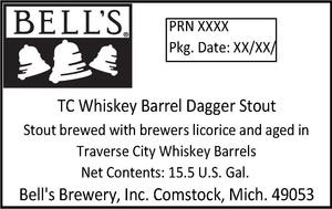 Bell's Tc Whiskey Barrel Dagger Stout