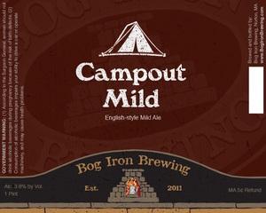 Bog Iron Brewing Campout Mild