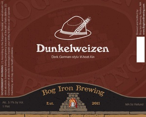 Bog Iron Brewing Dunkelweizen