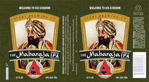 Avery Brewing Co. The Maharaja Imperial IPA