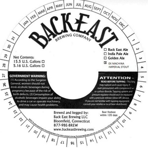Back East Brewing