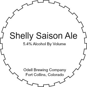 Odell Brewing Company Shelly Saison