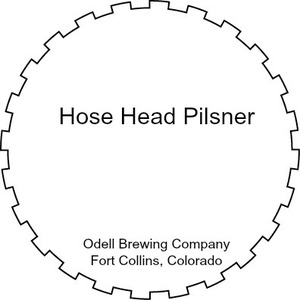 Odell Brewing Company Hose Head Pilsner September 2016