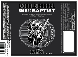 Epic Brewing Company Double Barrel Big Bad Baptist