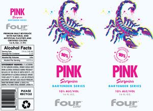 Four Loko Pink Scorpion