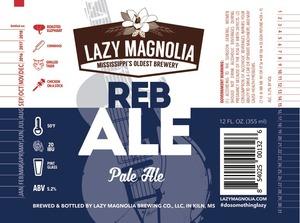 Lazy Magnolia Brewing Company Reb Ale