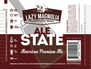 Lazy Magnolia Brewing Company Ale State