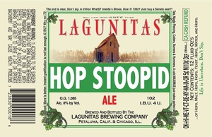 The Lagunitas Brewing Company Hop Stoopid