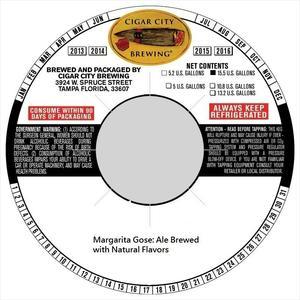 Cigar City Brewing Margarita Gose