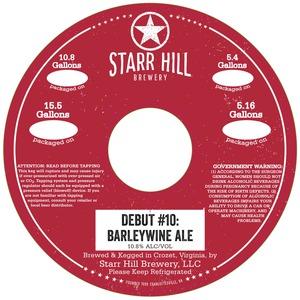 Starr Hill Barleywine