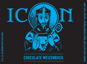 Saint Arnold Brewing Company Icon Chocolate Weizenbock