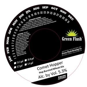 Green Flash Brewing Company Comet Hopper