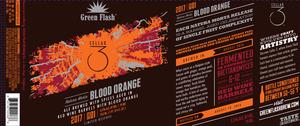 Green Flash Brewing Company Natura Morta Blood Orange