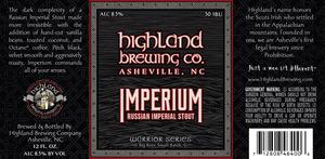 Highland Brewing Co. Imperium