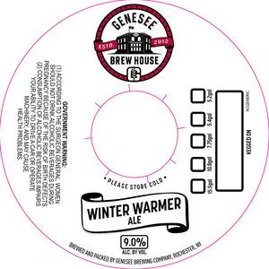 Genesee Brew House Brew House Winter Warmer