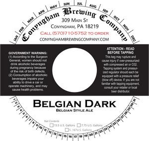 Conyngham Brewing Company Belgian Dark